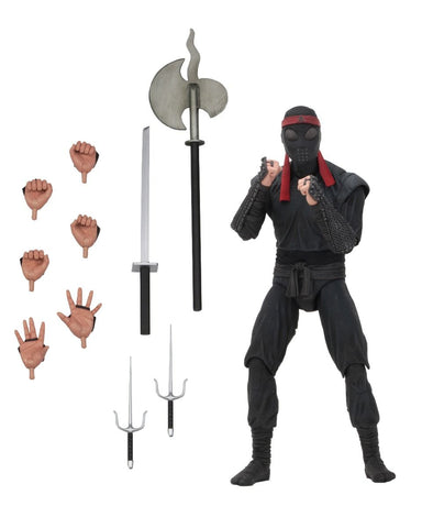 "(NECA)  Teenage Mutant Ninja Turtles - 7"" Scale Action Figure - Foot Solider (bladed weaponry)"