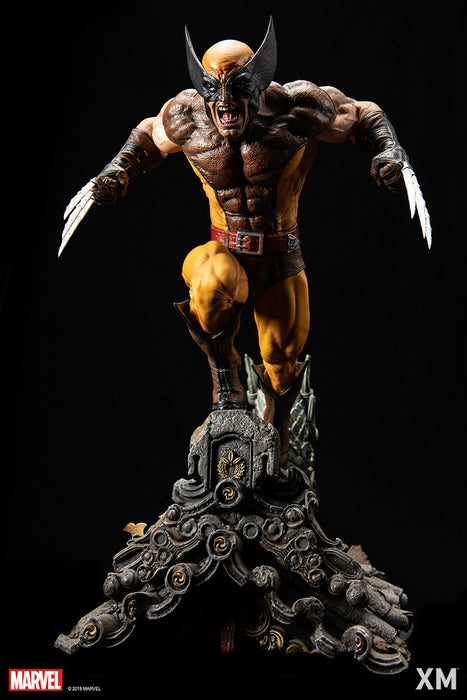 (XM Studios) Brown Wolverine 1/4 Scale Premium Collectible Statue