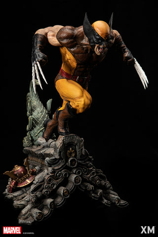 (XM Studios) (Pre-Order) Brown Wolverine 1/4 Scale Premium Collectible Statue - Deposit Only