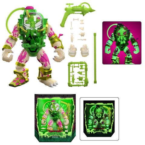 (Super7) (Pre-Order) Teenage Mutant Ninja Turtles Ultimates Glow-in-the-Dark Mutagen Man 7-Inch Action Figure - Entertainment Earth Exclusive - Deposit Only