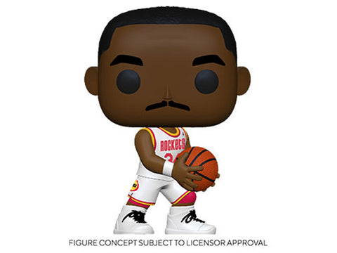 Image of (Funko Pop) Pop! NBA Legends - Hakeem Olajuwon (Rockets Home) with Free Boss Protector