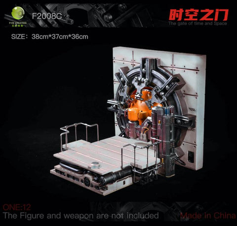 (Pre-Order)-FIVETOYS   F2008C WHITE The Gate of Time and Space 1/12 Scale-Deposit-Only