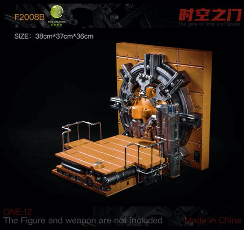 (FIVETOYS  )(Pre-Order)-F2008B ORANGE The Gate of Time and Space 1/12 Scale-Deposit-Only