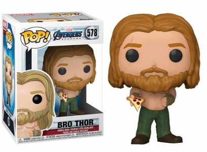 (Funko Pop) Pop Marvel Endgame Thor with Pizza with Free Protector