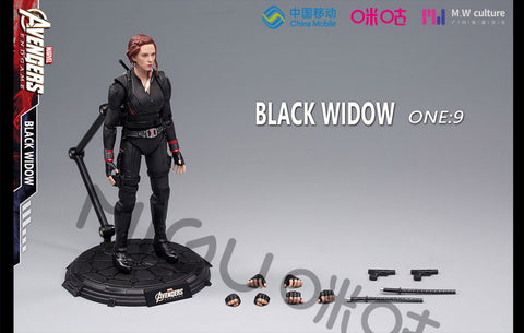 Image of (M.W CULTURE Migu) (Pre- Order) 1/9 Scale Action Figure - Marvel - black widow - Deposit Only