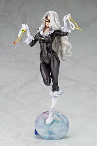 Image of (Kotobukiya) MARVEL BLACK CAT Steals Your Heart BISHOUJO STATUE