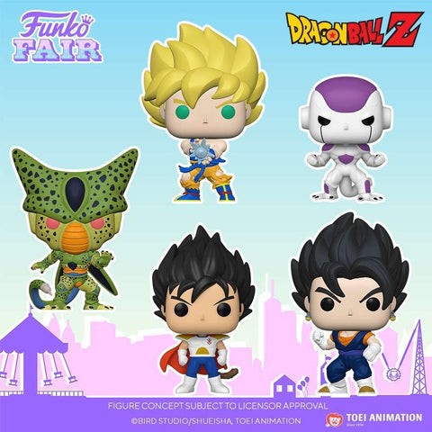 Image of (Funko Pop) (Pre-Order) Pop! Animation Dragon Ball Z - Vegito with Free Boss Protector