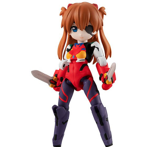 Image of (MegaHouse) (PRE-ORDER) DESKTOP ARMY EVANGELION MOVIE Ver.  (SET OF 3 PIECES) - DEPOSIT ONLY