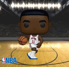 (Funko Pop) Pop! NBA: Legends - Isiah Thomas (Pistons Home) with Free Boss Protector