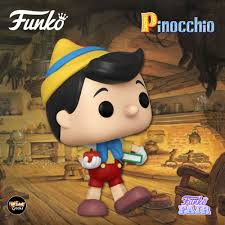 Image of (Funko Pop) Pop! Disney: Pinocchio 80th Anniversary- School Bound Pinocchio with Free Boss Protector