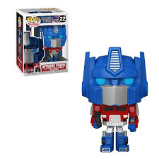 (Funko Pop) POP VINYL: TRANSFORMERS- OPTIMUS PRIME with Free Boss Protector
