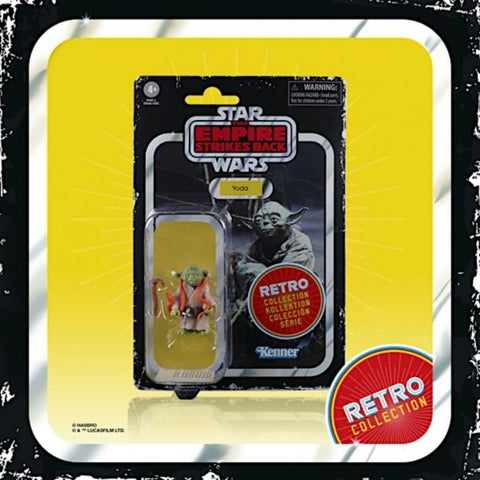 "(Hasbro) (Star Wars) Star Wars 3.75"" RETRO FIGURES AST Case Of 6 - Deposit Only"