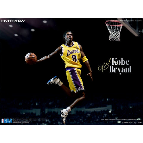(ENTERBAY) Kobe Bryant 1/6 Scale Figure Upgraded Version