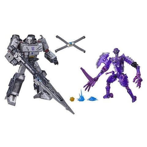 (Hasbro) Exclusives Transformers Netflix War for Cybertron Series-Inspired Leader Class Spoiler Pack