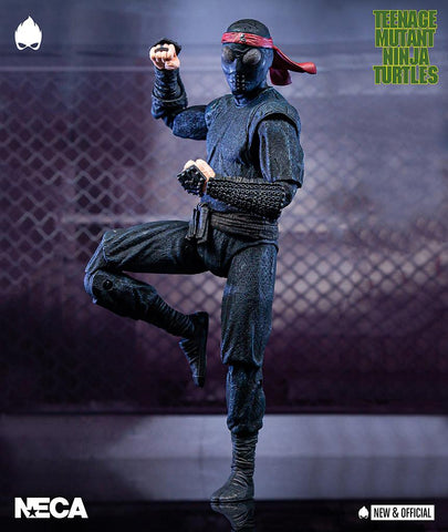 "(NECA) Teenage Mutant Ninja Turtles - 7"" Scale Action Figure - Foot Soldier (melee weaponry)"