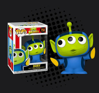 (Funko Pop) POP DISNEY: PIXAR ALIEN REMIX - DORY with Free Protector