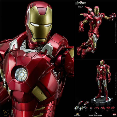 (King Arts) Iron Man Mark 7 VIP - 1/9 Scale Diecast Figure DFS013V