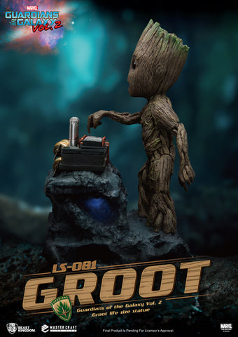 (Beast Kingdom) (Pre-Order) LS-081 Guardians of the Galaxy Vol. 2 Groot Life Size Statue - Deposit Only