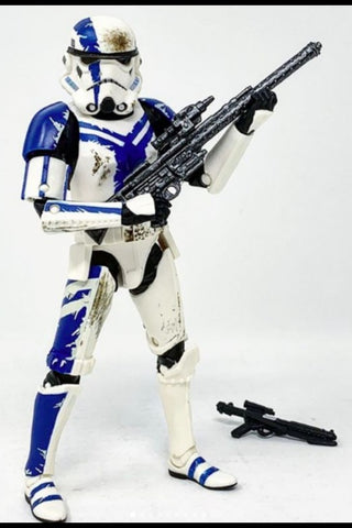 "(Hasbro) STAR WARS THE BLACK SERIES - 6"" FIGURE - STORMTROOPER COMMANDER"