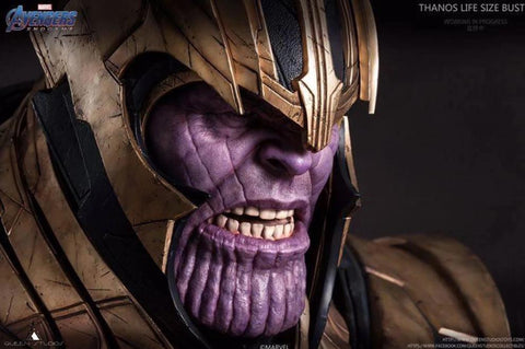 (Queen Studios) THANOS - ENDGAME LIFESIZE 1:1 SCALE BUST