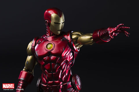Image of (XM STUDIOS) Ironman Classic 1/4 Scale Premium Statue (Back in Box/Displayed)