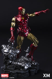 (XM STUDIOS) Ironman Classic 1/4 Scale Premium Statue (Back in Box/Displayed)
