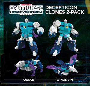 (Hasbro) (Pre-Order) TRANSFORMERS Earthrise Decepticon Clones 2Pack - Deposit Only