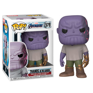 (Funko Pop) Pop Marvel Endgame Thanos in the Garden with Free Protector