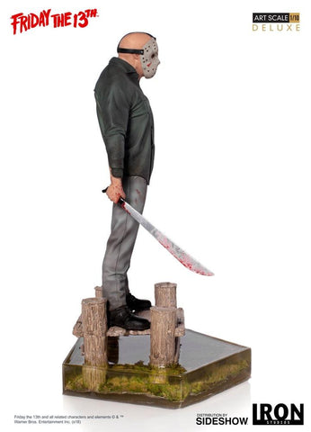 Image of (Iron Studios) Jason Deluxe Art Scale 1/10 - Friday the 13th