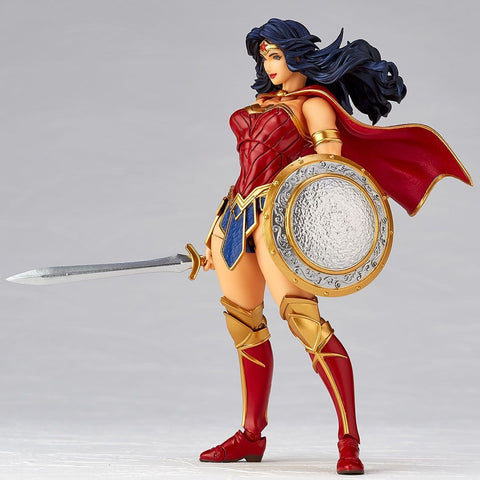 Image of (Kaiyodo) (Pre-Order) FIGURE COMPLEX Amazing Yamaguchi Series No. 017 Wonder Woman - Deposit Only