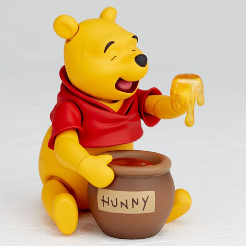 "Image of (Kaiyodo Union Creative Revoltech) (Pre-Order) Movie Revo Series No. 011 ""Winnie the Pooh"" Pooh - Deposit Only"