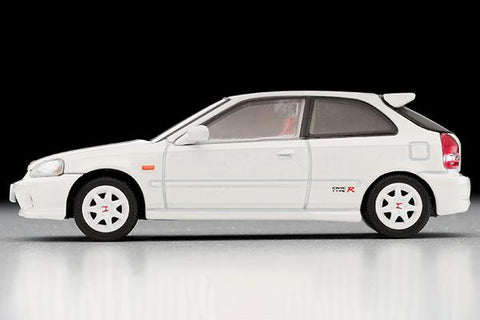 Image of (TOMYTEC) (Pre-Order) LV-N165c HONDA CIVIC TYPE R 99 Model White - Deposit Only