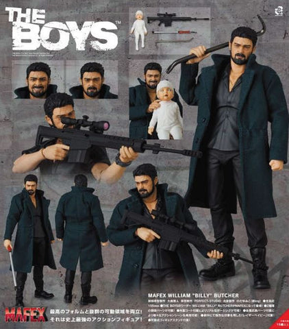 "(Mafex) (Pre-Order) JPY 8800 MAFEX William ""Billy"" Butcher - Deposit Only"