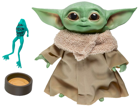 "(Hasbro) Star Wars: The Mandalorian - The Child (Baby Yoda) 7.5"" Electronic Talking Plush"