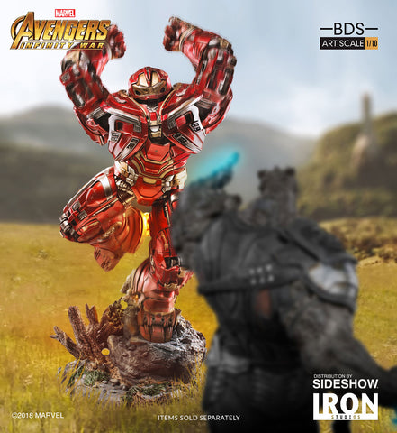 (Iron Studios) Hulkbuster BDS Art Scale 1/10 Avengers Infinity War (Back in Box/Displayed)