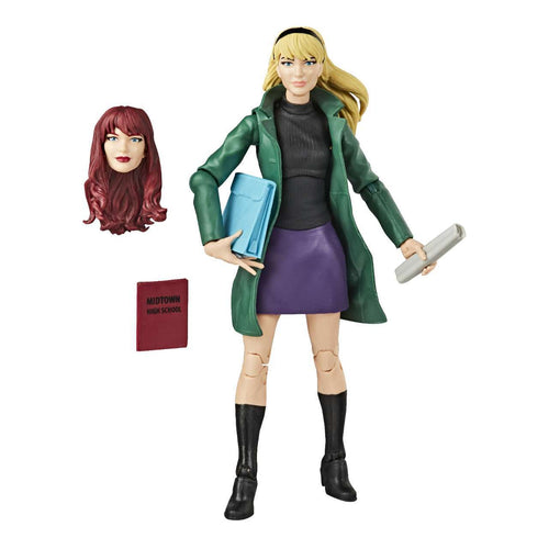 (Hasbro )Spider-Man Retro Marvel Legends Gwen Stacy 6-Inch Action Figure - Deposit Only