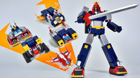 (Action Toys Robot Series) Mini Action Voltes V - 6 inches Tall