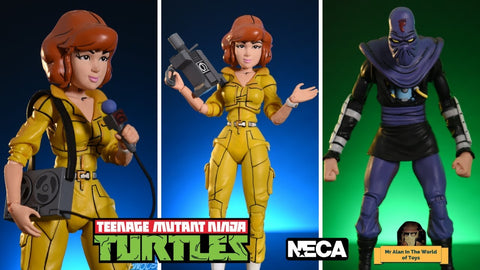 (Neca) 7-inch April O'Neil vs. Foot Soldier