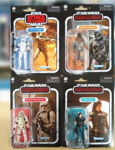 (Hasbro) (Pre-Order) Mandalorian Assortment 3.75in - Case of 4 - Deposit Only