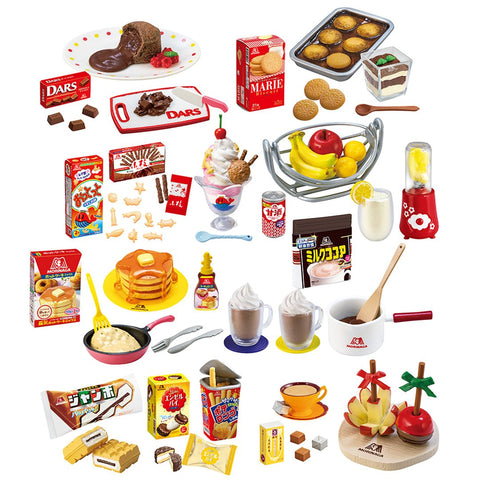 Image of (RE-MENT) MORINAGA SWEETS RECIPE