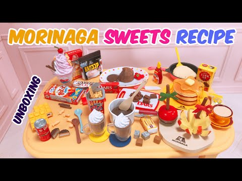 Image of (RE-MENT) MORINAGA SWEETS RECIPE 2