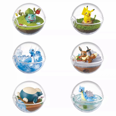 Image of (RE-MENT) POKEMON TERRARIUM 1