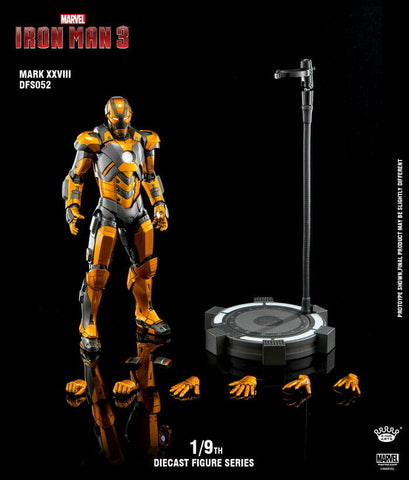 (King Arts) (Pre-Order) Iron Man Mark 28 - 1/9 Scale Diecast Figure DFS052 - Deposit Only