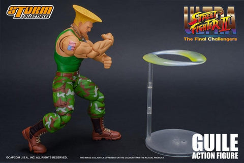 Image of (Storm Collectibles) (Pre-Order) 1/12 GUILE STREET FIGHTER 2 VER - Deposit Only