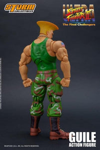 (Storm Collectibles) (Pre-Order) 1/12 GUILE STREET FIGHTER 2 VER - Deposit Only
