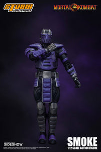 (Storm Collectibles) (Pre-Order) 1/12 MORTAL KOMBAT SMOKE NYCC - Deposit Only