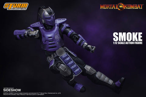 Image of (Storm Collectibles) (Pre-Order) 1/12 MORTAL KOMBAT SMOKE NYCC - Deposit Only