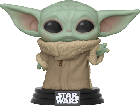 Image of (Funko Pop) Star Wars The Mandalorian The Child Funko Pop (Baby Yoda)