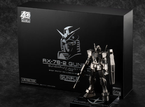 Image of (BANDAI) (Pre-Order) GUNDAM ALLOY MODEL 1/144 RX-78-2 - Deposit Only