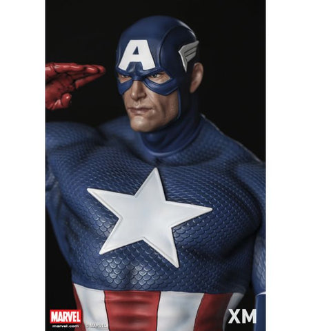 Image of (Xm Studios) Captain America Sentinel Of Liberty 1/4 Statue